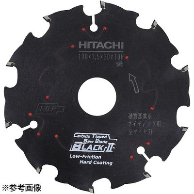 HiKOKI(日立工機) スーパーチップソー(全ダイヤ・ブラック)硬質窯業系サイディング用(外径125mm) 0033-6995
