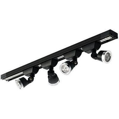 HOBBYLIGHT 小型トラック照明セット 黒 TL062BK4000