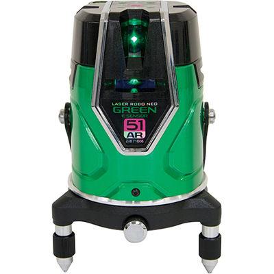 シンワ測定 レーザーロボグリーン Neo E Sensor 51ARフルライン・地墨71606 71606