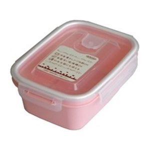 岩崎工業 保存容器 スマートフラップ&ロックス 660ml(M) 1P ピンク【90個セット】 4901126316159
