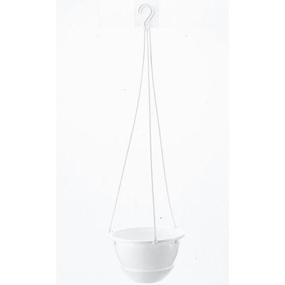 リッチェル ハンギング 吊鉢 ハイボール 6号 ホワイト (プラスチック製 植木鉢)【60個セット】 4973895741616【納期目安:1週間】