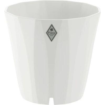 リッチェル 植木鉢 ピアーナ ポット 20型 ホワイト【36個セット】 4973655798126【納期目安:1週間】