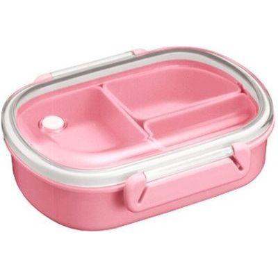 アスベル 弁当箱 BPビーブ ランチボックス LB-480(中子付) ピンク【40個セット】 4974908344824【納期目安:1週間】