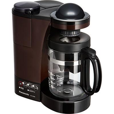 パナソニック コーヒーメーカー 5カップ分 Wドリップ NC-R500-T