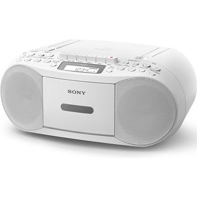 ソニー CDカセットレコーダー CFD-S70-W【納期目安:1週間】