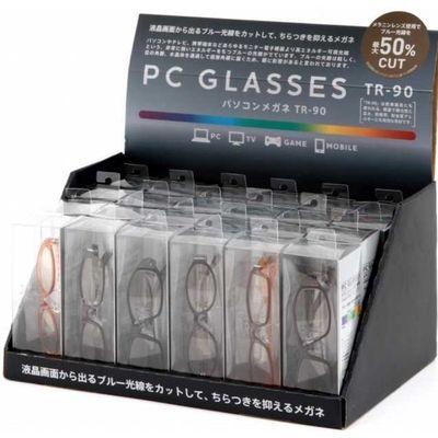 不二貿易 パソコングラス TR 24pcsセット(9SKUアソート) 11863