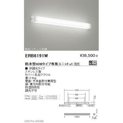 遠藤照明 STYLISH LEDZ series アウトドアブラケット ERB6191W