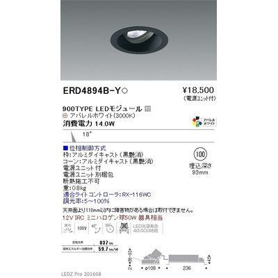 遠藤照明 LEDZ ARCHI series ユニバーサルダウンライト ERD4894B-Y