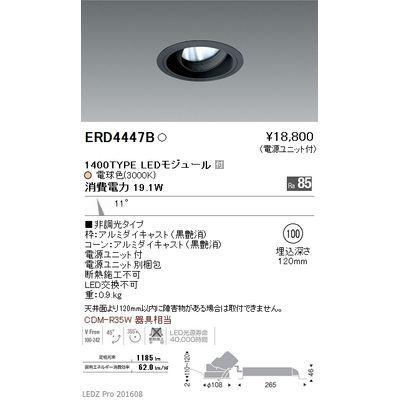 遠藤照明 LEDZ ARCHI series ユニバーサルダウンライト ERD4447B