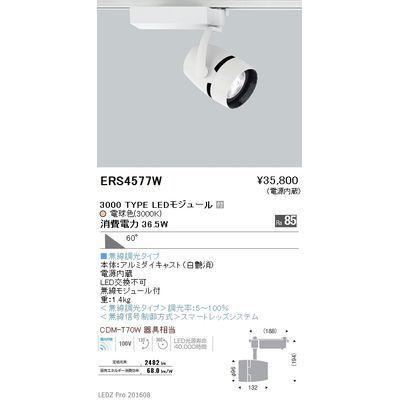遠藤照明 LEDZ ARCHI series スポットライト ERS4577W