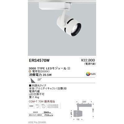 遠藤照明 LEDZ ARCHI series スポットライト ERS4570W