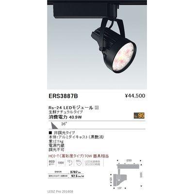 遠藤照明 LEDZ Rs series 生鮮食品用照明(スポットライト) ERS3887B
