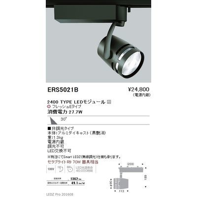 遠藤照明 LEDZ ARCHI series 生鮮食品用照明(スポットライト) ERS5021B