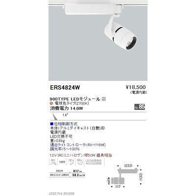 遠藤照明 LEDZ ARCHI series スポットライト ERS4824W