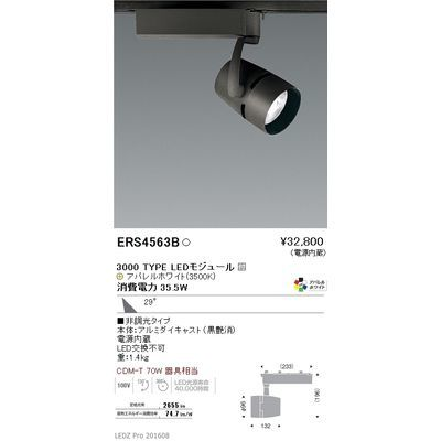遠藤照明 LEDZ ARCHI series スポットライト ERS4563B