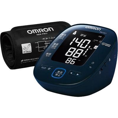 オムロン 見やすいバックライト機能付き。上腕式血圧計 HEM-7281T