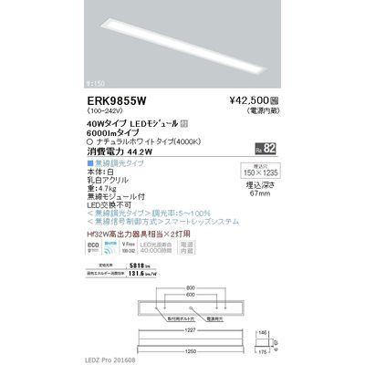 遠藤照明 LEDZ FLAT BASE series BASE ベースライト 遠藤照明 下面乳白パネル形 ベースライト ERK9855W, ヒガシナリク:ef93b064 --- gamenavi.club