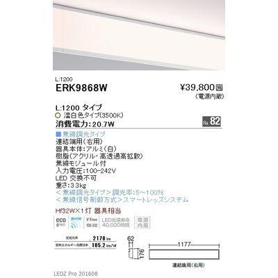 遠藤照明 LEDZ series 間接照明 ERK9868W