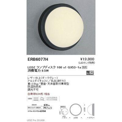 遠藤照明 アウトドア ブラケット〈LEDランプ別売〉 ERB6077H