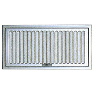 宇佐美工業 床下換気孔 スライド式 150×300mm 網付 シルバー UK-YSD1530-SM [10枚入] 0006-00072