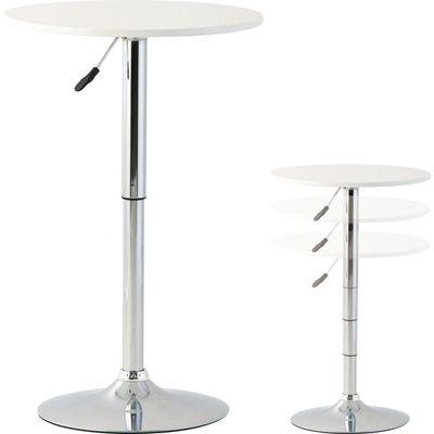 高梨産業 ティーテーブル(ホワイト) RD-T1052