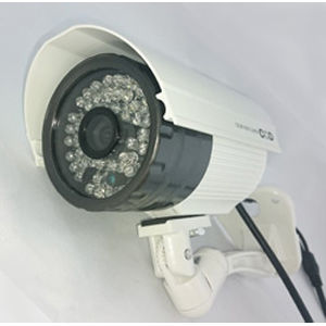 オンスクエア 録画機能付屋外赤外線付カメラ OL-022W