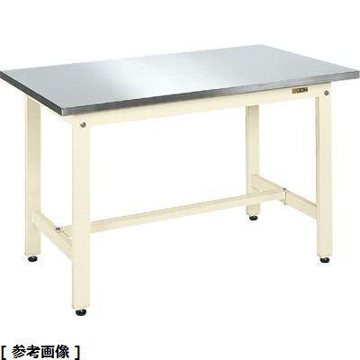 サカエ 軽量作業台KKタイプ・ステンレス天板仕様 KK-187SU4NI