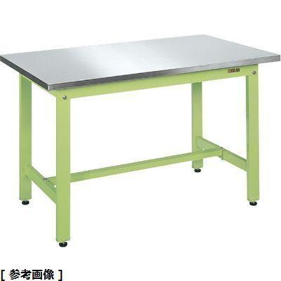 サカエ 軽量作業台KKタイプ・ステンレス天板仕様 KK-187SU4N