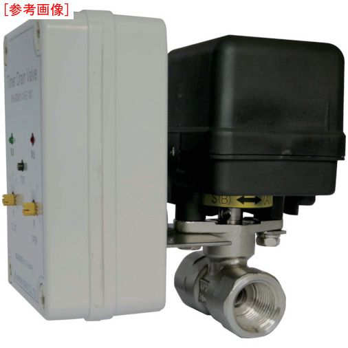 日本精器 日本精器 電動ボールバルブ式タイマードレンバルブ15A200V BN9DM2115E200