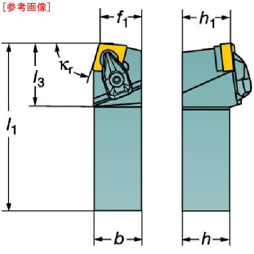 サンドビック サンドビック コロターンRC ネガチップ用シャンクバイト DCBNL2525M12