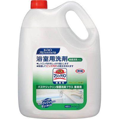 花王 【4個セット】 花王バスマジックリン除菌消臭プラス 4.5L JSVE101