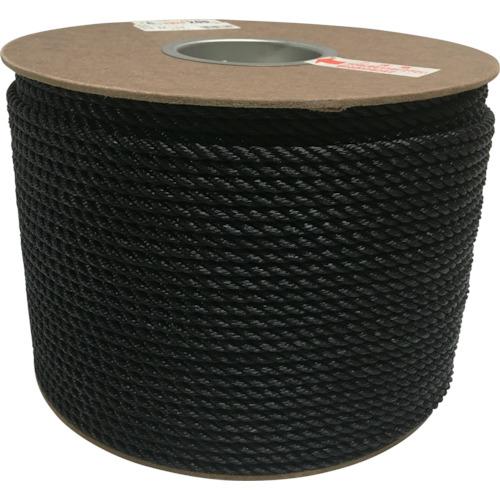 ユタカメイク ユタカメイク ポリエチレンロープドラム巻 6mm×200m ブラック PRE104