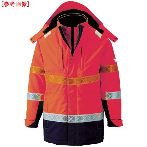 ジーベック ジーベック 801 高視認防水防寒コート 3L オレンジ 801823L