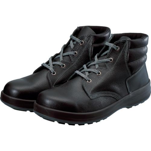 シモン シモン 3層底安全編上靴 WS22BK25.5