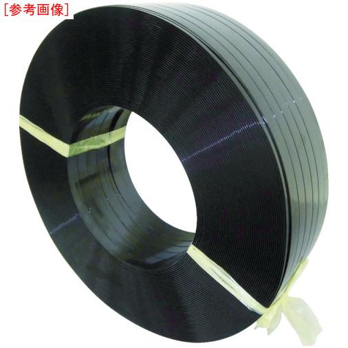 積水樹脂 積水 ポリエステルバンド1906×750M-黒 PET1906M