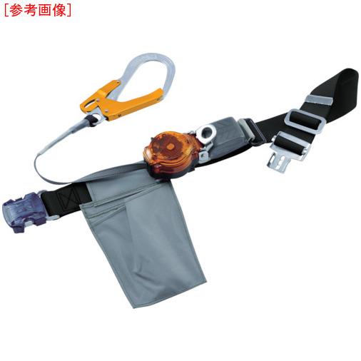 藤井電工 ツヨロン なでしこ2WAYリトラ安全帯(OTバックル)黒色S寸軽量型オレンジ TRLOT93OCBLKORSBP