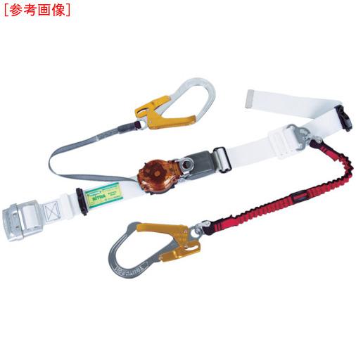 藤井電工 ツヨロン ツインランヤード安全帯 白色 2ウェイ・ノビロン TRL2OT93OCNVREWORBP