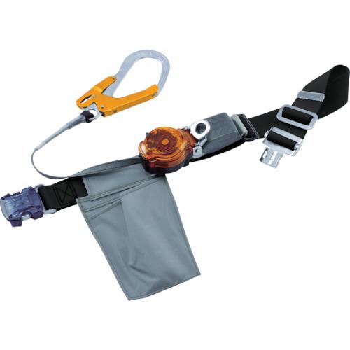 藤井電工 ツヨロン なでしこ2WAYリトラ安全帯(OTバックル)黒色SS寸軽量型オレンジ TRLOT93OCBLKORSSBP