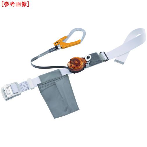 藤井電工 ツヨロン なでしこ2WAYリトラ安全帯 白色 S寸 軽量型 オレンジ TRL93OCWORSBP