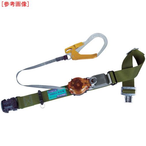 藤井電工 ツヨロン 2WAYリトラ安全帯(OTバックル)深緑色軽量型オレンジ TRLOT93OCODORBP