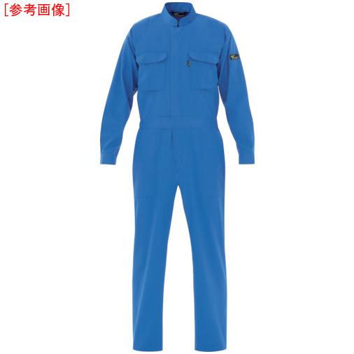 ミドリ安全 ミドリ安全 ベルデクセル T/C帯電防止ツナギ服 ブルー L VE413L