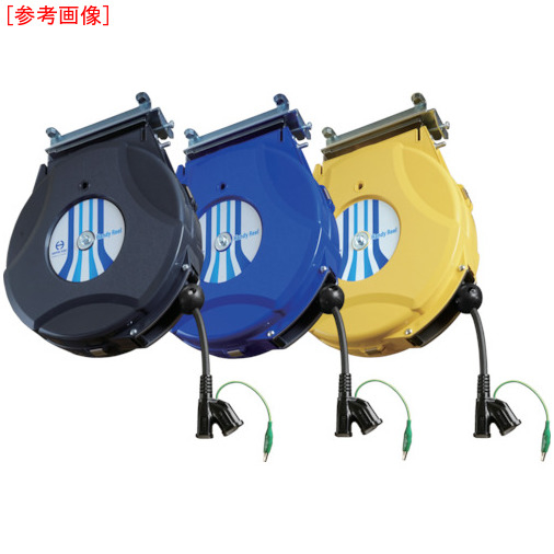 日平機器 日平 コンセントリール 10m 黒 HEP810CBG