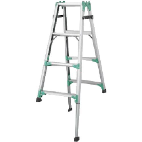 長谷川工業 ハセガワ 脚部伸縮式アルミはしご兼用脚立 RYZ型 4段 RYZ1.012