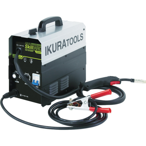 育良精機 育良 インバータ半自動溶接機 200V(40058) ISKSA120P