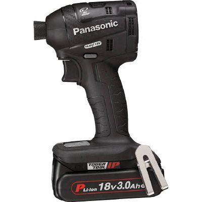 パナソニックエコソリューション Panasonic 充電インパクトドライバー 18V 3.0Ah 黒 EZ75A7PN2GB
