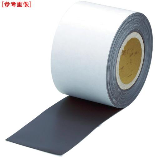 トラスコ中山 TRUSCO マグネットロール 糊付 t1.5mmX巾50mmX10m TMGN155010