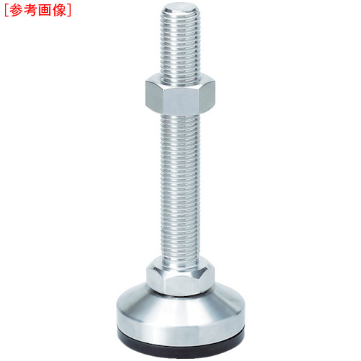 スガツネ工業 スガツネ工業 重量用ステンレス鋼製アジャスター M24×200 (200-024 SDYMSR24200