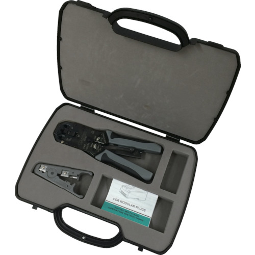パンドウイットコーポレーション パンドウイット モジュラプラグ圧着工具 マルチタイプ ケース付キット MPT5EKIT