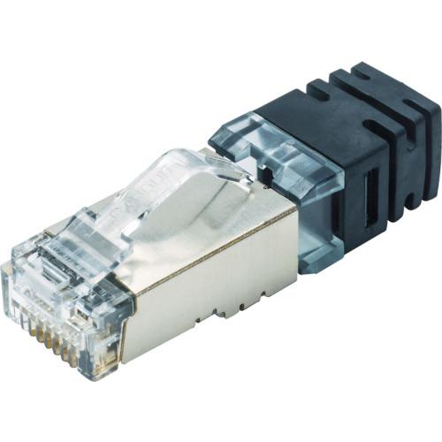 パンドウイットコーポレーション パンドウイット シールド付きモジュラープラグ LANコネクタ カテゴリ6A 100個入り SPS6X88-C SPS6X88C