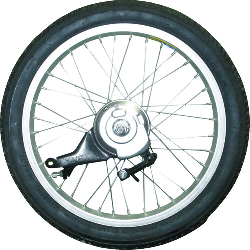 トラスコ中山 TRUSCO THR-5503用 ノーパンクタイヤ 後輪左用 THR5503TIRERL